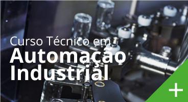 Capa do Curso Técnico de Automação Industrial
