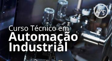 Capa do Curso Técnico em Automação Industrial
