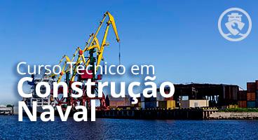 Capa do Curso de Tecnico em Construção Naval