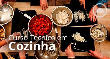 Capa do Curso Técnico em Cozinha