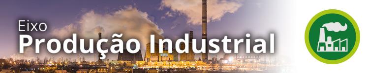 Topo do Eixo de Produção Industrial