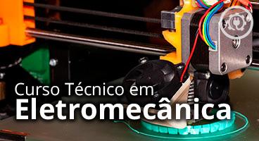 Capa do Curso Técnico em Eletromecânica