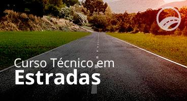 Capa do Curso Técnico em Estradas