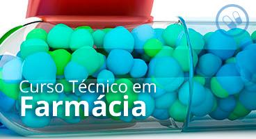 Capa do Curso Técnico em Farmácia
