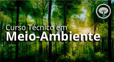 Capa do Curso Técnico em Meio-Ambiente