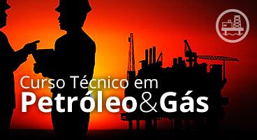 Capa do Curso Técnico em Petróleo & Gás