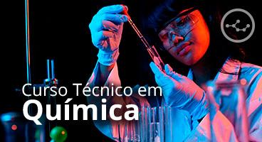 Capa do Curso Técnico em Química