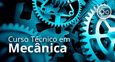 Capa do Curso Técnico em Mecânica