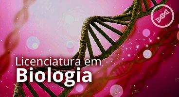 Capa da Licenciatura em Biologia