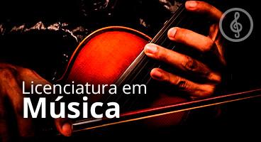 Capa da Licenciatura em Música