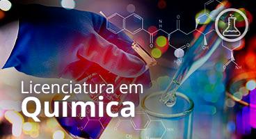 Capa da Licenciatura em Química
