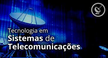 Capa do Curso de Tecnologia em Sistemas de Telecomunicações