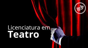 Capa da Licenciatura em Teatro