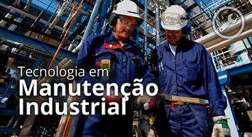 Capa do Curso de Tecnologia em Manutenção Industrial