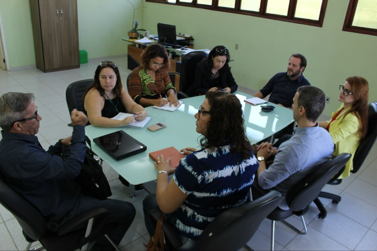 Reunião de comissões central e local do Campus Cabo Frio
