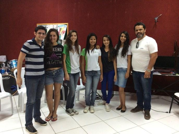 Seleção do Coro Jovem no campus Campos Guarus