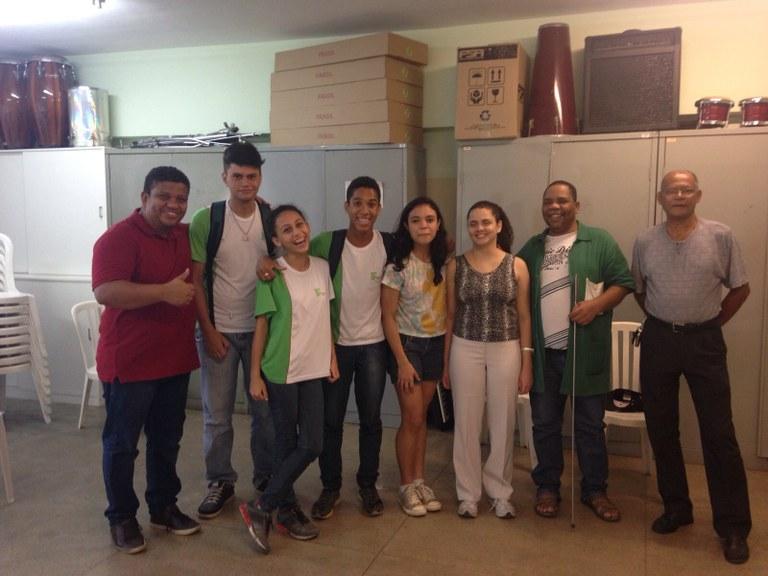 Seleção do Coro Jovem no campus Campos Centro