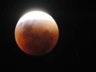 Observação da Lua de Sangue