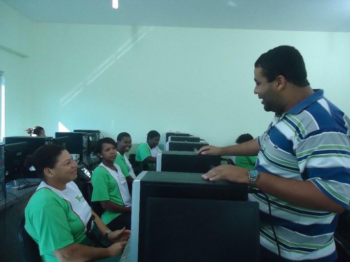 Foto 5 – Aula prática no campus Bom Jesus.