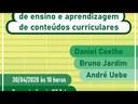 Webinar: Utilização de TIC no processo de ensino e aprendizagem de conteúdos curriculares