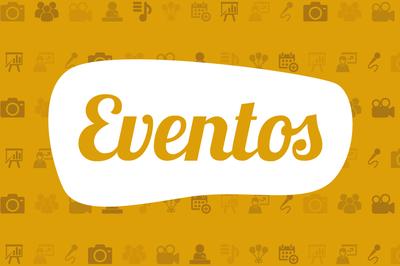 Banner eventos para ilustrações de páginas.