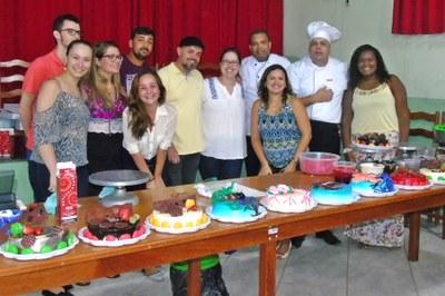 Comissão de Organização com Fábio Nogueira e os Chef Confeiteiro Maykon Andrade e Roosevaldo Nogueira