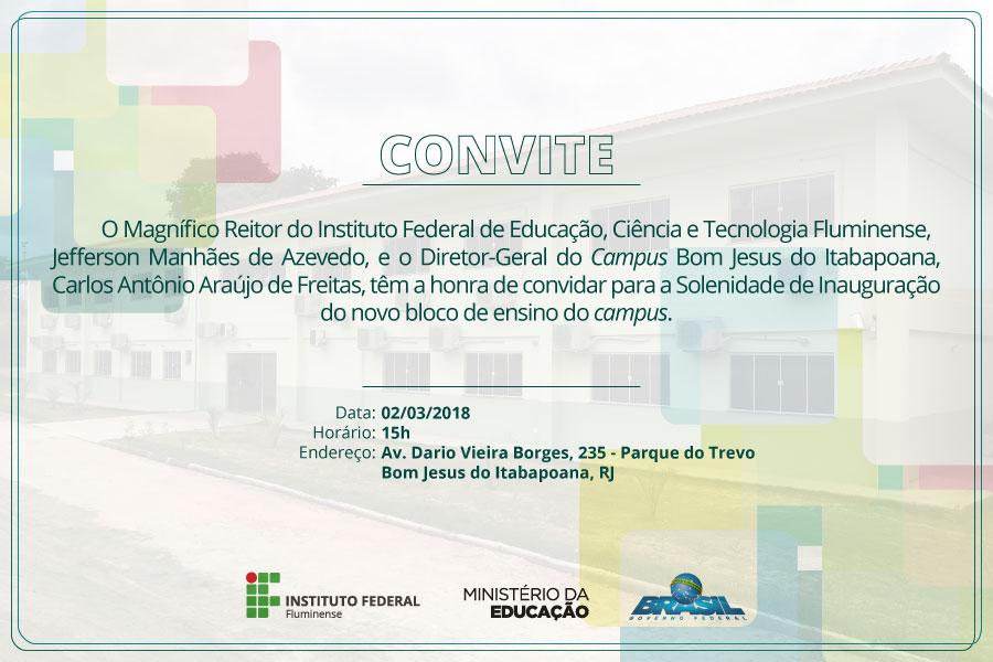 Convite Inauguração Casa do Mel