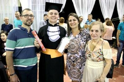 Daniel Silveira e família