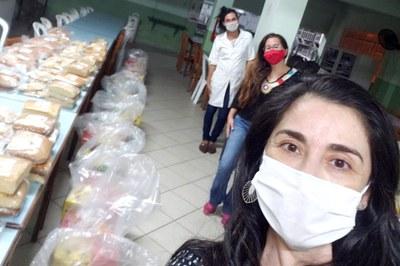 Projeto de Extensão Pão e Solidariedade, educação com humanidade