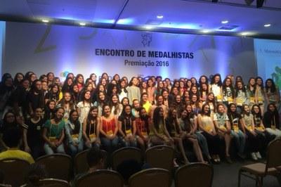 Premiação Obmep 2016 - Rebeca Fontoura
