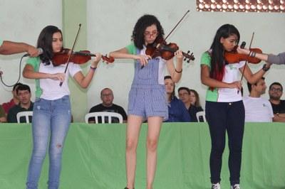 Participação em eventos musicais
