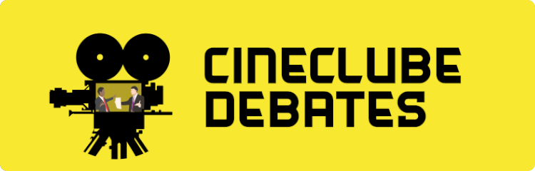 banner do cineclube debates