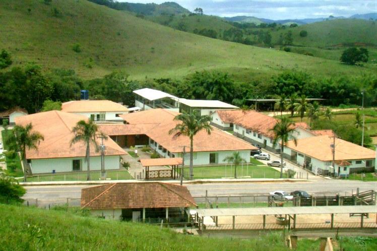 Vista aérea do campus Bom Jesus