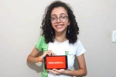 Estudante também foi aprovada para a Northwestern University, no Catar.