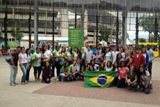 Objetivo da viagem foi promover a inclusão e interação entre os alunos.