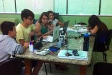Alunos dos três anos do curso técnico integrado em Informática formam o time que representará o campus.
