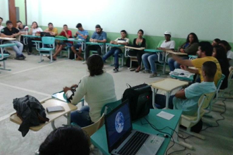 Evento contou com a presença de alunos e professores