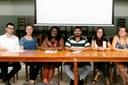 Lucas Martins, Carolina Lepre, Neyara Barbosa, Diego Almeida, Bruna Lessa e Letícia Souza.