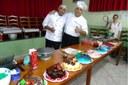 Maykon Chef Confeiteiro da Panificadora Família Borges e Roosevaldo é formado pela Barry Callebaut academia de confeitaria em São Paulo e pela IRIKs, uma empresa alemã.