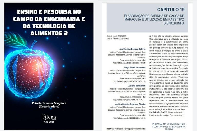 Estudantes do CTA publicam capítulo de livro sobre projeto desenvolvido no IFF Bom Jesus