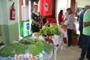 Produtores da rede Sabores e Saúde também participaram da feira.