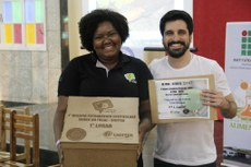 A aluna do Campus Bom Jesus foi premiada com o primeiro lugar no desafio Pré-Focal.