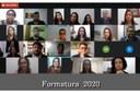 Formandos do IFF Bom Jesus celebram colação de grau em cerimônias on-line