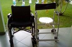 Cadeiras foram entregues no dia 30 de maio.