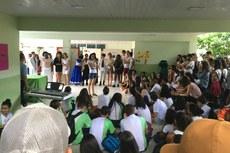 Espaço do Estudante foi palco da abertura do evento.