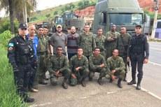 Em Bom Jesus, 12 militares atuam na cidade e distritos.