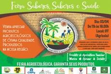 Frutas, verduras, legumes e produtos diversos serão comercializados na feira.