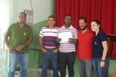 Cerimônia de entrega dos certificados de conclusão do curso aconteceu no dia 13 de dezembro.