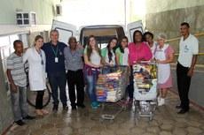 Atualmente o hospital depende de doações para atender à demanda de alimentação.