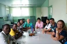 Gestores do IFFluminense recepcionaram o grupo no dia 25 de setembro.